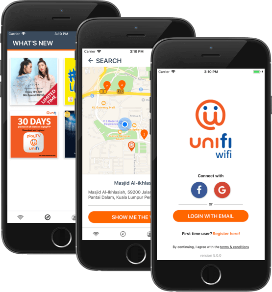 Unifi ifoundit portfolio image